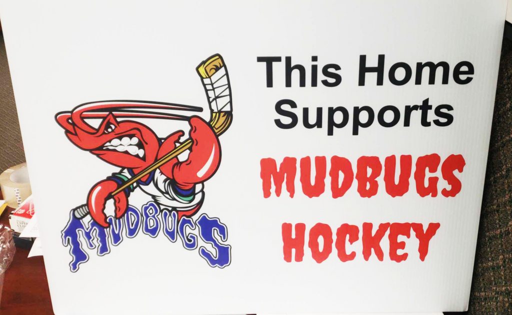 ACE Digital Mudbugs Yard Sign