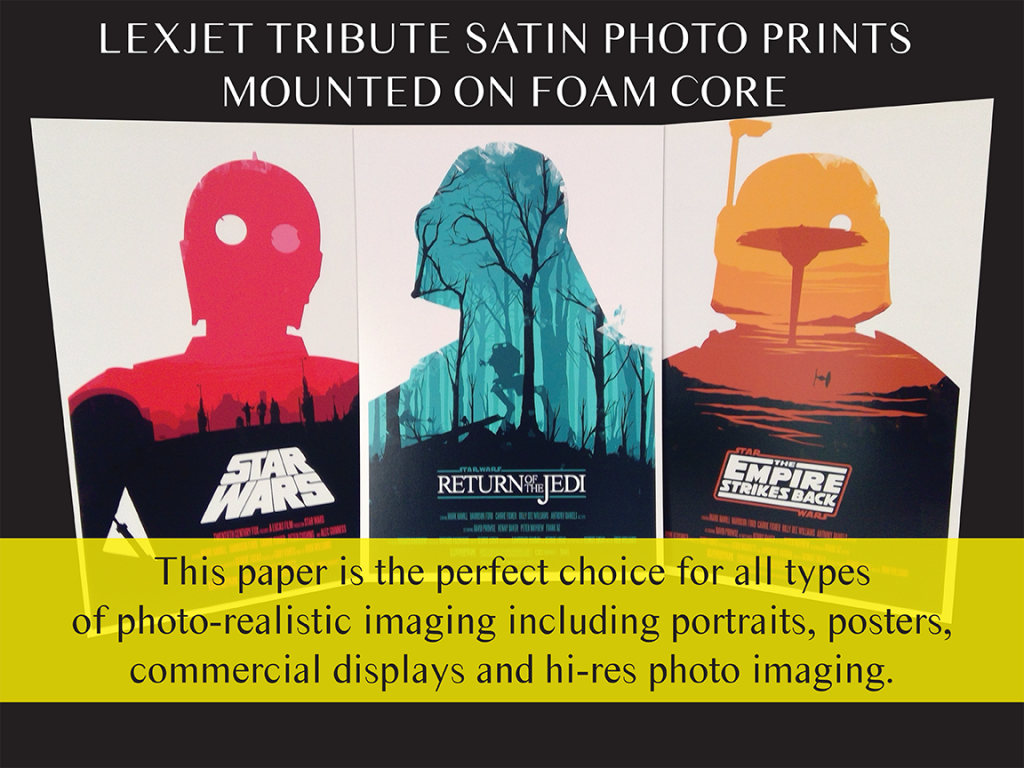 Lexjet Tribute Satin-Star Wars